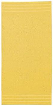 Kleine Wolke Textilgesellschaft mbH & Co. KG 3003567201 - Toalla de cortesía, color amarillo