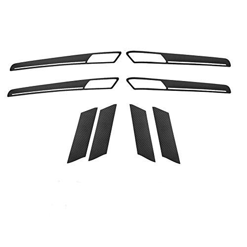 Emblem Trading Handgriffen 3D Carbon Folie In Schwarz Carbon Gplf 7