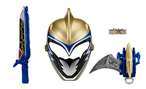 Power Rangers Dino Charge Gold Ranger Mask (Power Rangers Dino Charge - Gold Ranger Hero Set (Discontinued by manufacturer))