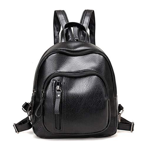 PU cuir voyage sac à dos loisirs femme sac à dos de style coréen étudiant cartable portable fille sac à bandoulière