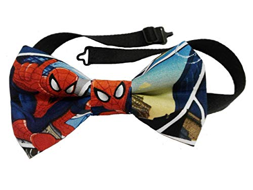 Spiderman Pretied Bow Tie,