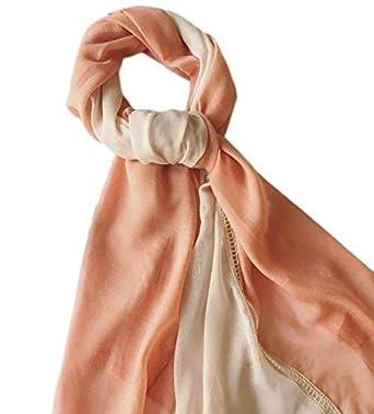 4255c5e42fb Demarkt Femme Longue Écharpe Châle Souple Couleur Unie Belle Elégant  Écharpe Accessoire pour Automne Hiver-