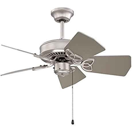 Craftmade PI30BN Ceiling Fan With Blades Sold Separately 30