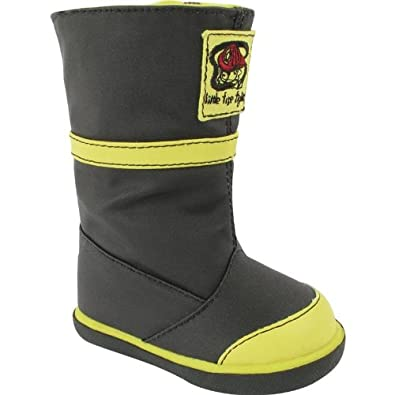 Amazon.com | Baby Deer - Kid's Fireman Boot (Toddler/Little Kid ...