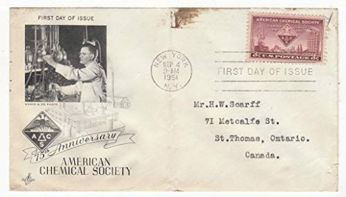 United States American Chemical Society 75th Anniversary