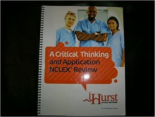 Hurst Critical Thinking Application Student Manual - image 4