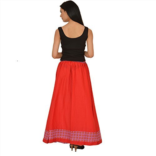 taille red taille 42 taille Jupe US Scarves Skirts UK amp; 40 unique M rgulier Femme wgP6H1q