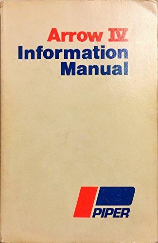 Arrow IV Information Manual (Arrow PA-28RT-201 Handbook)