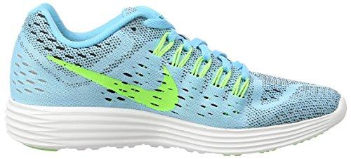 Nike Womens Lunar Tempo Scarpe Da Corsa Clearwater / Flsh Lime Blk / White