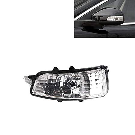 Lopbinte 31111090 per S40 S60 S80 C30 C70 V70 V70 2007 2008 2009 L Indicatore Un Specchio Indicatore di Direzione Lampada Lente Lente No Bulbo