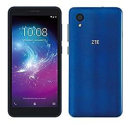 ZTE Blade A3 Lite (16GB) 5.0″ 18:9 Display, 8MP Camera, Quad-Core, Android 9.0 Go, US + Latin 4G LTE GSM Unlocked Smartphone – International Version (Blue)