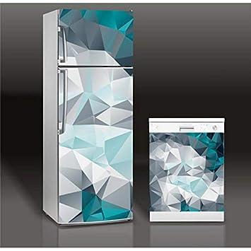 Cristalería rota 3D autoadhesiva lavavajillas refrigerador ...