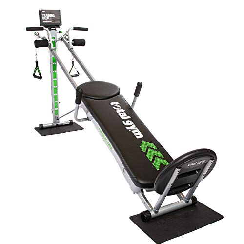 Total Gym APEXG5 Unisex Versatile Indoor Home Workout Total Body Strength Training Fitness Machine with 10 Levels of Resistance and Attachments