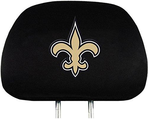 Team Promark 82626 New Orleans Saints Headrest Covers