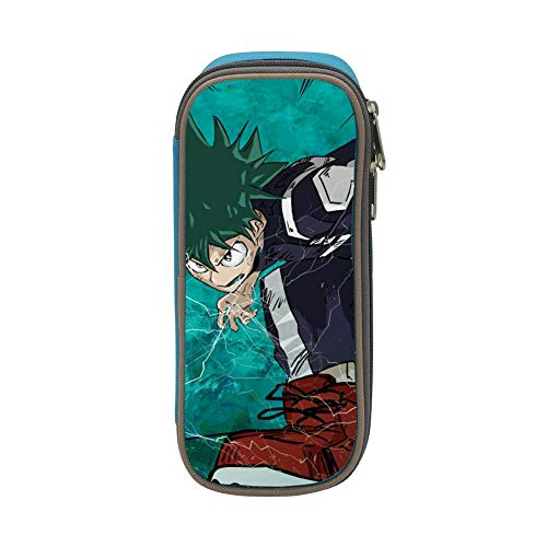 Smash Mido-riy Izu-ku Pencil Case Large Pen Pouch Capacity for sale  Delivered anywhere in USA