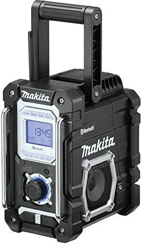 Makita XRM06B-R 18V LXT Cordless Lithium-Ion Bluetooth Job Site Radio Renewed