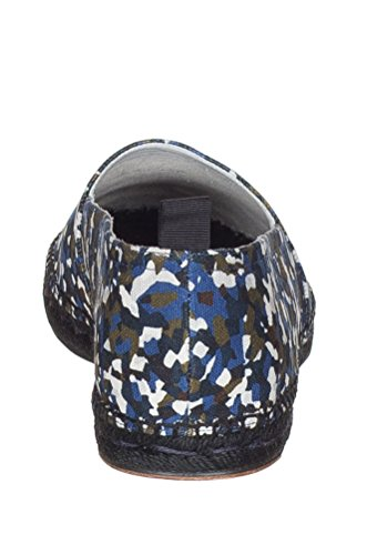 Fendi Mens Camouflage Granite Print Espadrillas Mocassini Scarpe Basse Multicolor