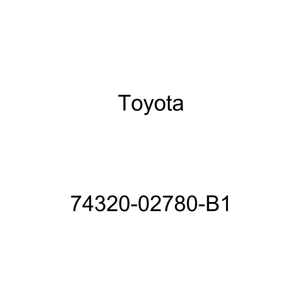 TOYOTA Genuine 74320-02780-B1 Visor Assembly