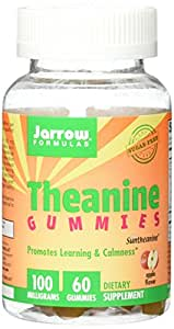 Jarrow Formulas Theanine Gummies Promotes Learning & Calmness, 60 Count