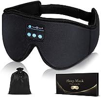 アイマスク 安眠 プレゼント Bluetooth5.0 アイマスク 睡眠 音楽 アイマスク 遮光 3D立体 USB充電式 昼寝 圧迫感なし快眠 旅行 疲労回復 失眠対策 快眠グッズ