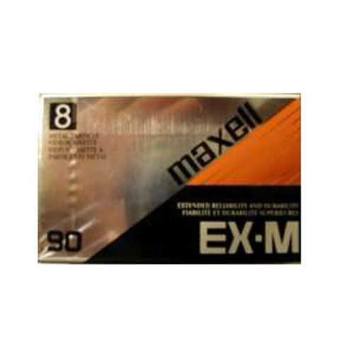 MAXELL P6-90EX METAL PARTICLE 8MM 90MIN VIDEOCASSETTE