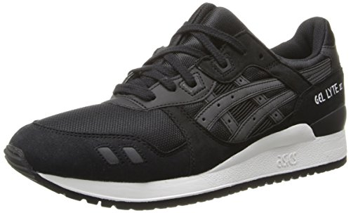 Gel III Black Retro Sneaker Lyte Black Men's Asics wt8xq5AnTF