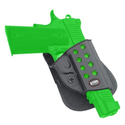 Fobus Roto Evolution Series Paddle Holster - 1911 Style with Rails Kimber TLE, RL & Springfield