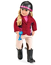 Our Generation BD31009Z - OG - Lily Anna mit Reiteroutfit, 46 cm