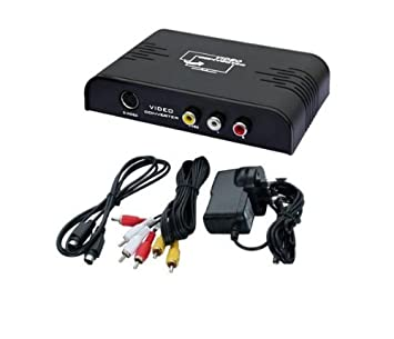 Hdmi output to composite s video converter amazon electronics hdmi output to composite s video converter 3rca crt tv cvbs publicscrutiny Images