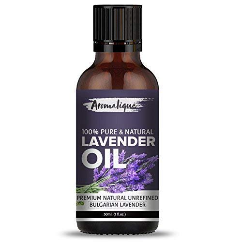 Aromatique Lavender Essential Oil For Skin Care and Hair Growth 100% Pure and Natural Therapeutic Grade- 15ml