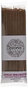 Biona Organic - Spelt Wholegrain Spaghetti - 500g
