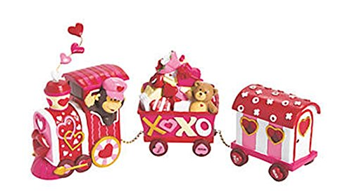 Fun Express Valentine's Day Tabletop Train Decoration -