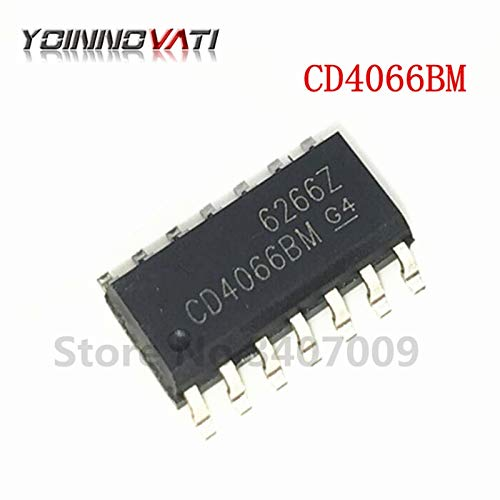 - Gimax 50PCS/lot CD4066BM SOP14 CD4066BM96 CD4066 switch IC Quad New original