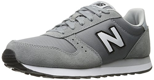 New Balance Mens Ml311 Lifestyle Fashion Sneaker, Black, 10 D US Steel