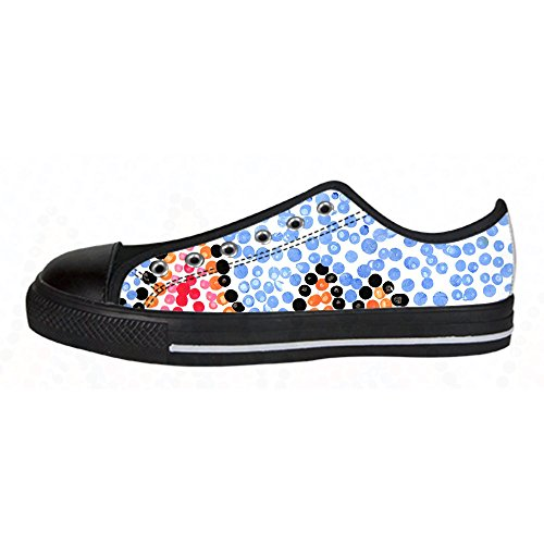 Amanda Rossi Go Customized colorful dots New Sneaker Canvas Shoes for - Justin Rosso
