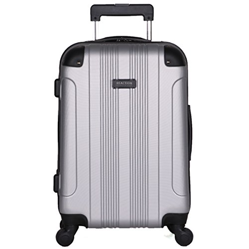 Kenneth Cole Reaction Out of Bounds 20″ Carry-on, Lt Silver