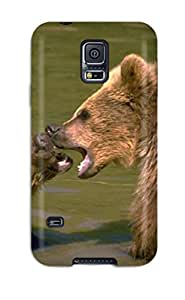 Durable Defender Case For Galaxy S5 Tpu Cover(bears)