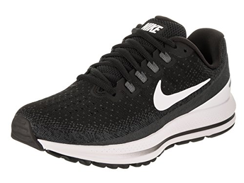 NIKE Women's Air Zoom Vomero 13 Black/White/Anthracite Running Shoe 9 Women US by NIKE