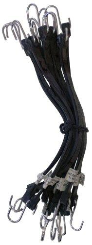Kotap MBRS-15 EPDM Rubber 15-Inch Strap, Black, 10-Piece by Kotap