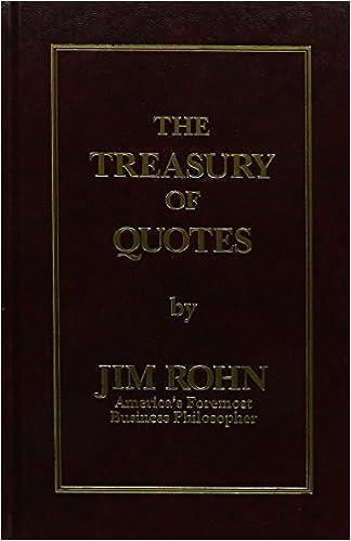 The Treasury of Quotes by Jim Rohn (2006) Hardcover: Amazon ...