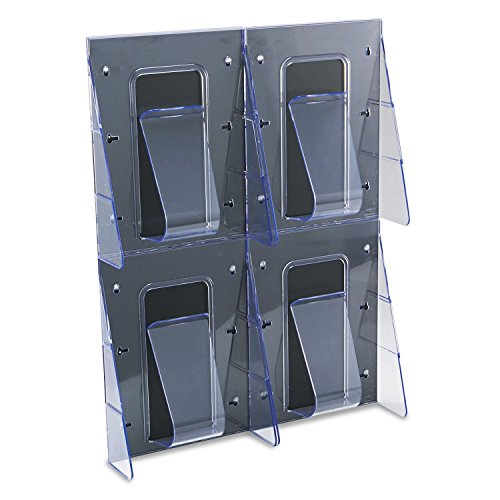DEF56001 - Multi-Pocket Wall-Mount Literature Systems