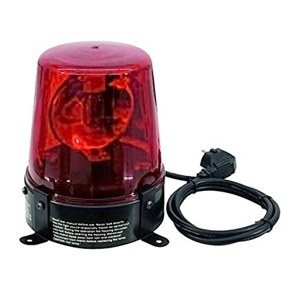 Eurolite 060090 DE-1 Police Lumière Rouge