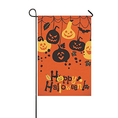 WBSNDB Home Decorative Outdoor Double Sided Halloween Cheerful