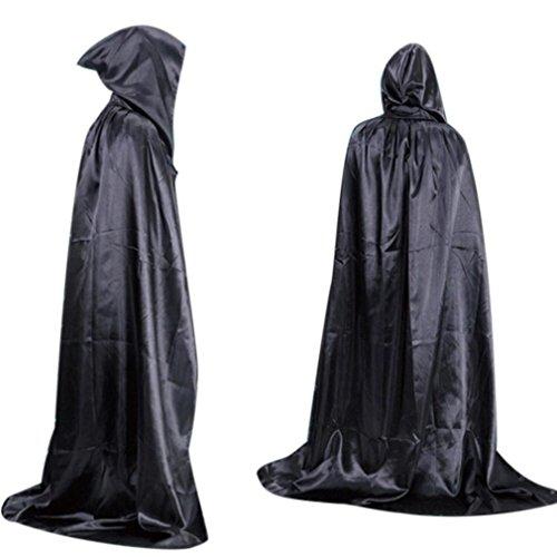 Bestpriceam New 2016 Deluxe Adult Cloak with Hood (M, Black)