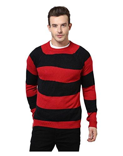 Yepme - Austin Sweater - Rouge et Noir