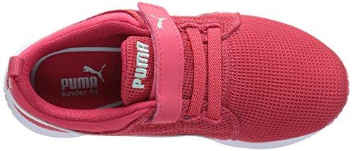 Puma Carson Runner V Kids zapatillas Geranium/White