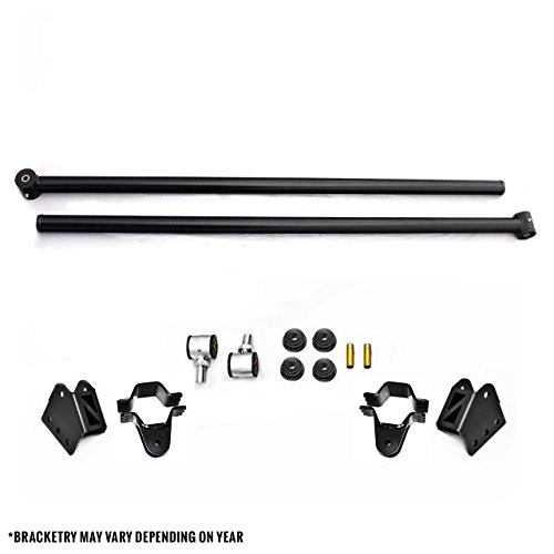 Top Gun Customz TGC 3314901BB Ford F-250,F-350 Short Bed Adjustable Rear Steel Ladder/Traction Bars