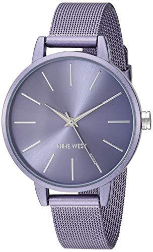 Nine West Women's NW/2281LVLV Lavender Mesh Bracelet ()