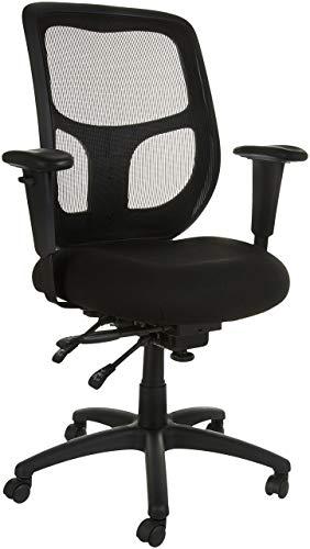 AmazonBasics Mesh Fabric Executive High-Back Chair, Black
