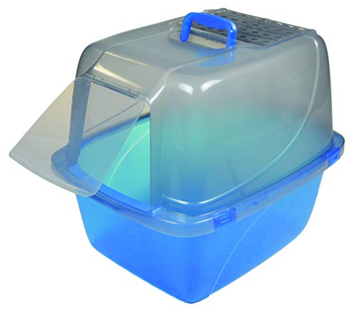 Van Ness Odor Control Extra Giant Translucent Enclosed Cat Pan with Odor Door - ()